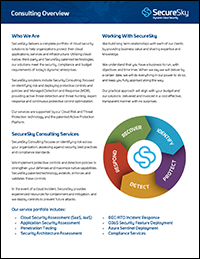 SecureSky Consulting cover