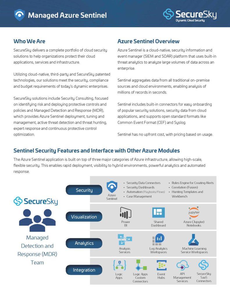 SecureSky Sentinel cover